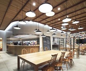 The Canteen at The Soho by Masamichi Katayama of Wonderwall