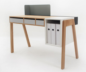 The Capa Desk by Reinhard Dienes