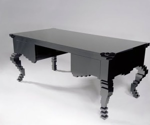 The CEO Writing Desk Looks Made of Legos