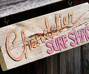 The Chandelier Surf Shack