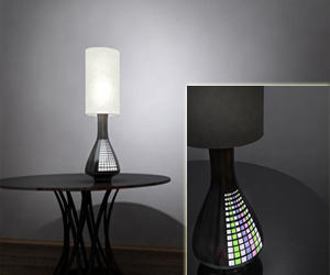 The City Lamp Takes Energy from the Main Light Source