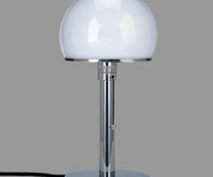 The classic Bauhaus Lamp designed by William Wagenfeld in 1924
