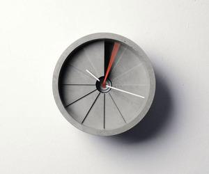 The Concrete Wall Clock