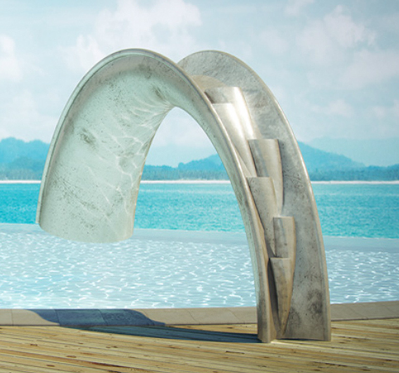 The coolest swimming pool slide ever - The coolest swimming pool in the world ...