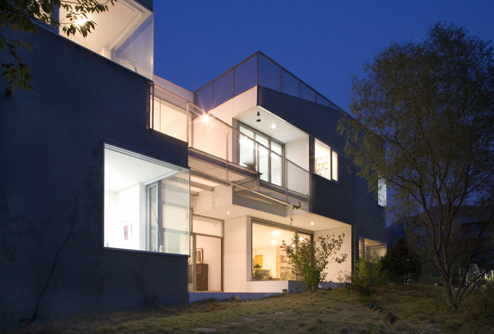 The Cracked House In Seoul By Mass Studies