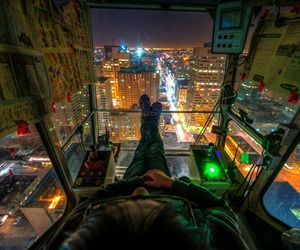 The Crane Operators View by MildlyReactive