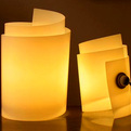 The Curly Lamp from Fuz
