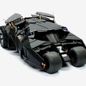 The Dark Knight 1/6th Scale Batmobile Collection by Hot Toys