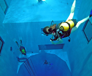 Nemo 33, Deepest Indoor Swimming Pool in the World