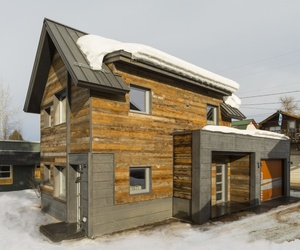 The Diagon Alley Passive House by WorkshopL