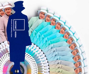 The Diamond Jubilee Pantone Colour Guide