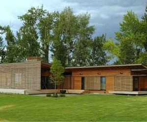 The Eco Construction of Ruby Springs Prefab House
