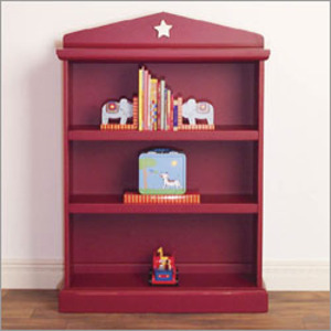 The Eco-Friendly Heritage Star Bookcase in Cherry Red