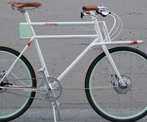 The Faraday Utility Bike by IDEO Design Team