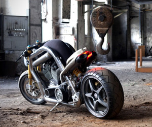 The Fleet Street Motorcycle By Team 3 Technologies