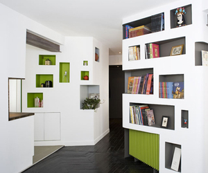 """The """"Front and Back"""" Apartment in France by h2o Architects"""