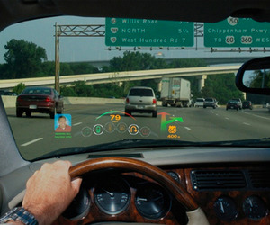 The Future of Automotive Laser Heads-Up Display
