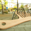 The Giant comb Bicycle Stand