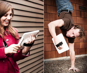 The Handstand  iPad Holder