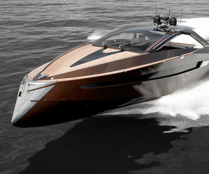 The Hedonist Yacht by Art of Kinetik.
