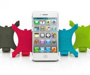 The iClip™ A New Versatile Way to Hold the iPhone