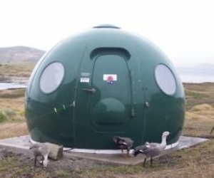 The Igloo Satellite Cabin
