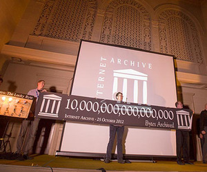 The Internet Archive Celebrates A Monumental Achievement