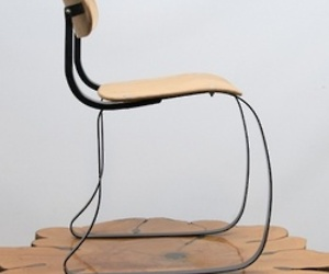 The Ironrite Health Chair by Herman H. Sperlich, 1938