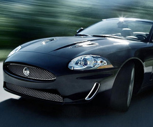The Jaguar XKR Convertible:  A True British Beauty
