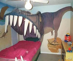 The Jurassic Park Kids Bedroom