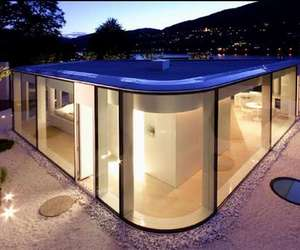 The Lake Lugano House from Italian architecture