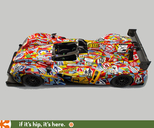 The Le Mans 24 Hours Official Art Car Unveiled