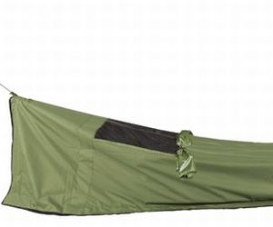The lightweight tent mattress that is carried as a backpack