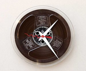 The Magnetic Reel Clock