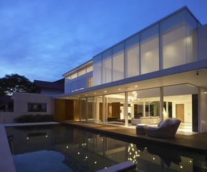The Margoliouth House in Singapore by DLab