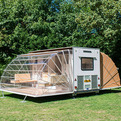 The Marquis Expandable Camper At Urban Campsite