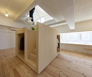 The Megurohoncho House by Torafu Architects