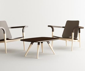 The Modernatique Chair and Table by Cho Hyung Suk