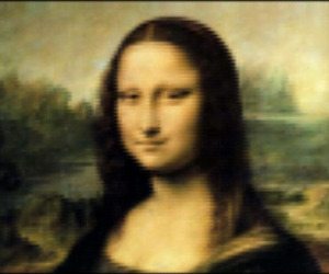 The Mona Lisa Recreated Using 7,500 Lines of CSS Code