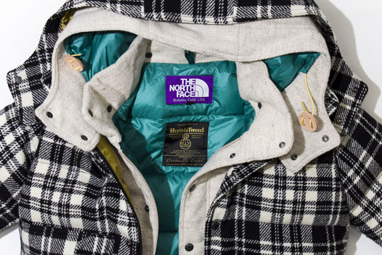 f0a5bfc75 The North Face Purple Label – Harris Tweed Collection