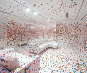 'The Obliteration Room' by Yayoi Kusama