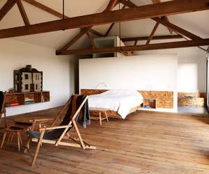 The Ochre Barn by Carl Turner Architects