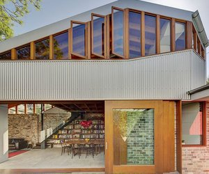 The Old Cowshed House by Carter Williamson Architects