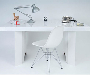 The Paperweight Desk -Cardboard Desk Kit