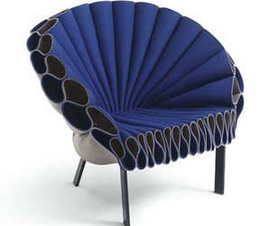 The Peacock Chair From Cappellini Manufacturer