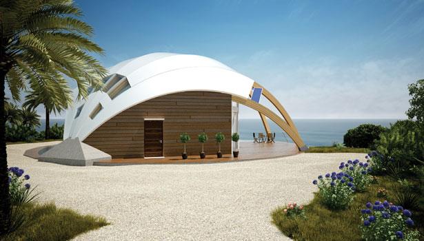 The Pearl Solaleya S Passive Solar House