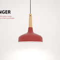The Plunger lamp by Says Who