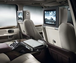 The Range Rover That Comes With Apple iPads
