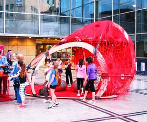 The Red Blob - An interactive installation