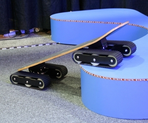The Rockboard Descender Skateboard
